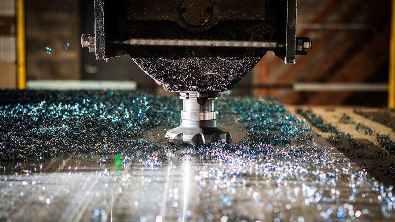 Le groupe transforme 45.000 tonnes d'acier par an.