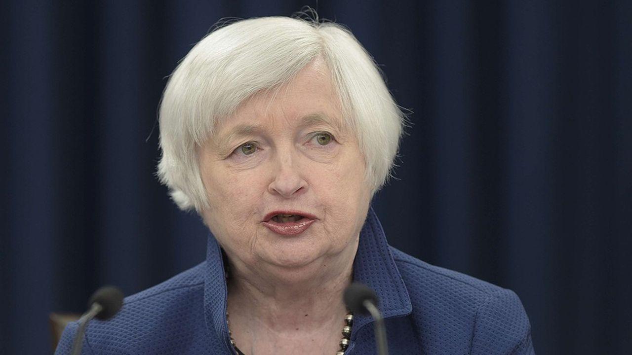 Dans une interview au « Financial Times », Janet Yellen s'en prend vivement à la politique de dérégulation du secteur financier menée par Donald Trump.