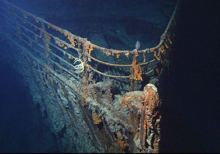L'épave du Titanic dans l'Atlantique est rongée par des bactéries et va disparaître d'ici 20 ans.