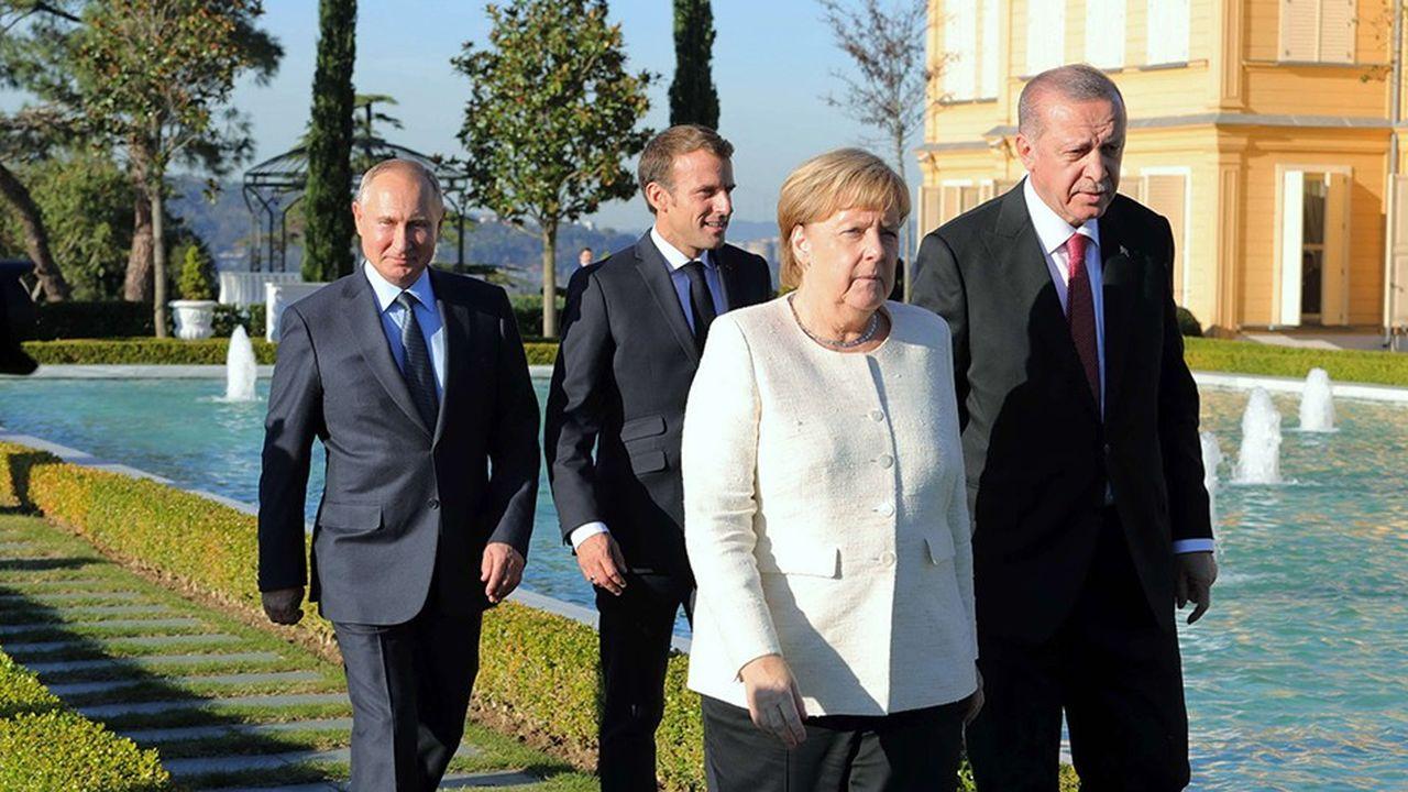 Sommet inédit -dans ce format- sur l'avenir de la Syrie, samedi à Ankara.