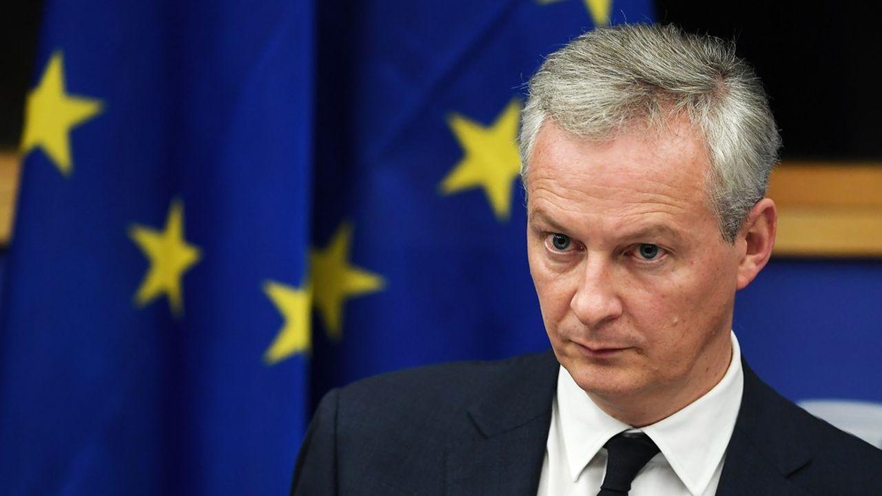 Bruno Le Maire espère aussi obtenir un accord sur la mise en place d'une taxe européenne sur les géants du numérique.