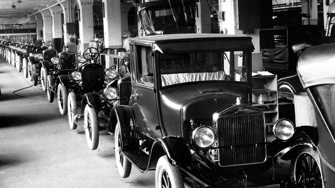 Dans l'industrie automobile, la dernière grande révolution date de la période 1918-1945.