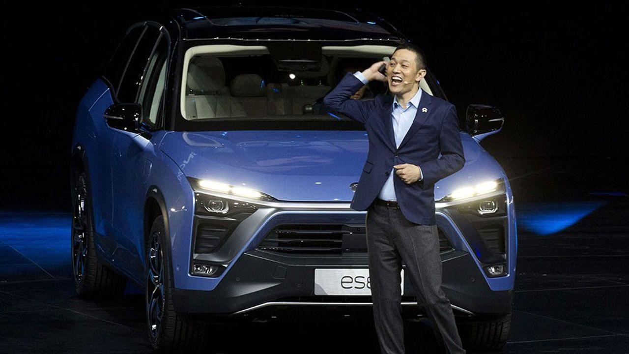 Fondée par William Li, NIO fait partie de ces start-up lancées en Chine sur le modèle de Tesla.