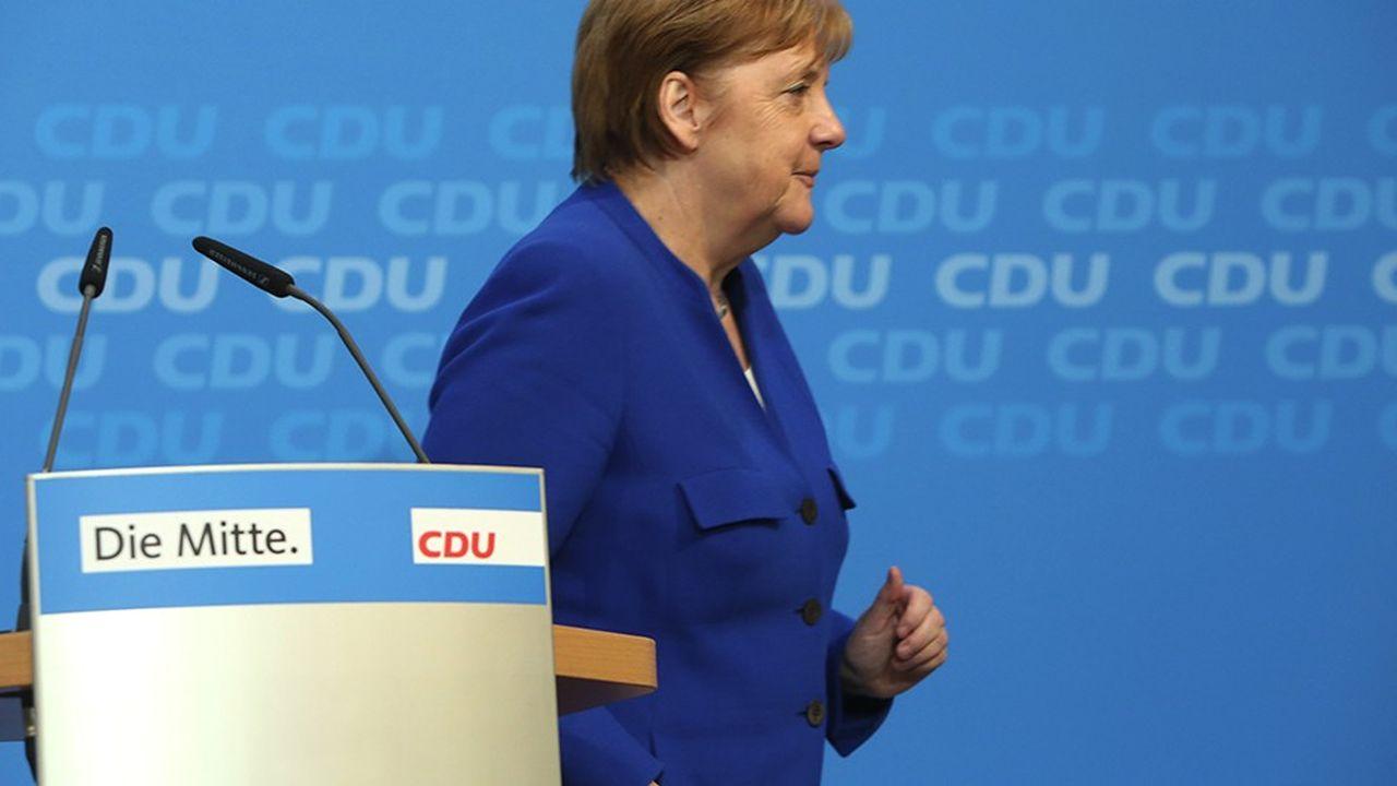 Angela Merkel prend acte de la défaite de ses troupes en Hesse, mais ne devrait pas lâcher le pouvoir avant 2021