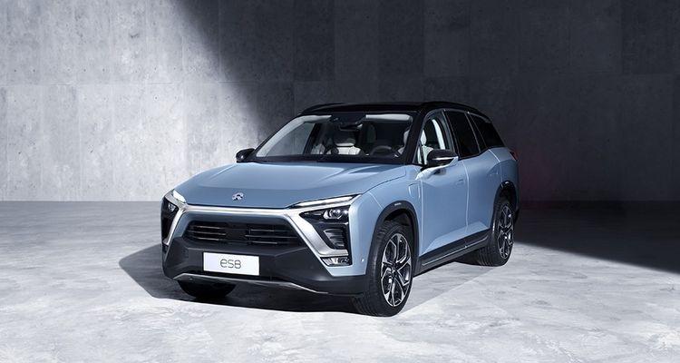 Lancé en juin2018 en Chine, le SUV ES8 de NIO s'est vendu à 3.370 exemplaires à fin septembre.