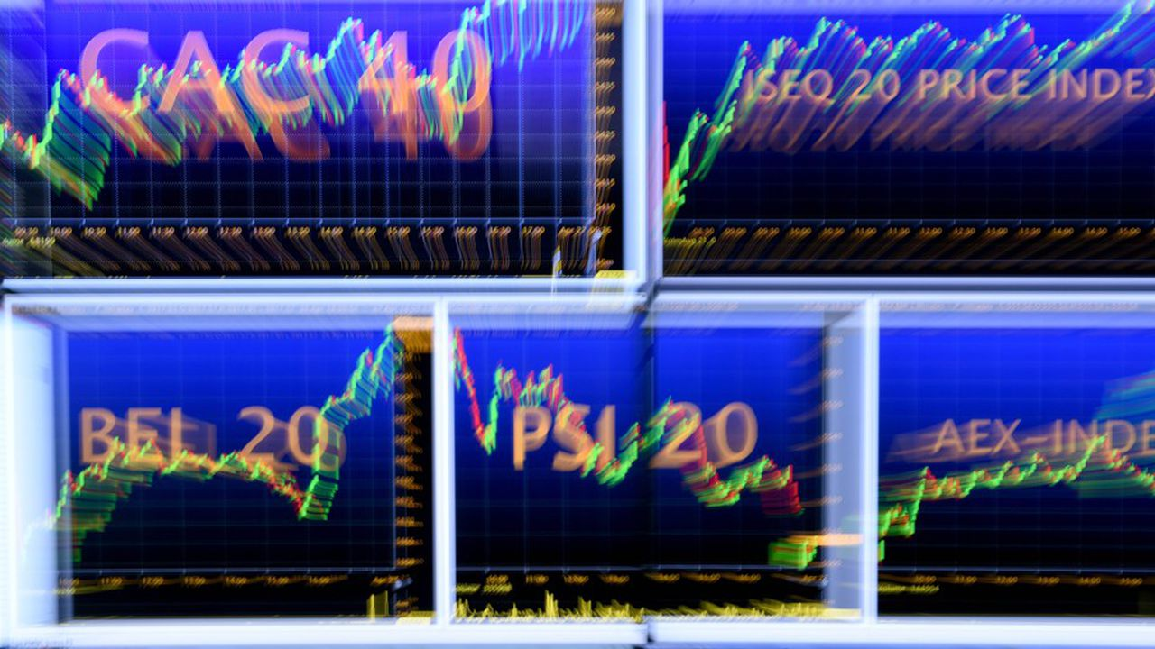 L'indice CAC 40 a été publié à 10h20 ce lundi, en recul de 8,86 points.