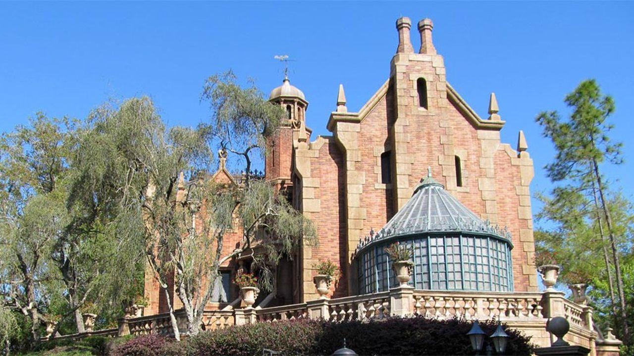 La Maison hantée est l'un des sites favoris des personnes dispersant des cendres de proches
