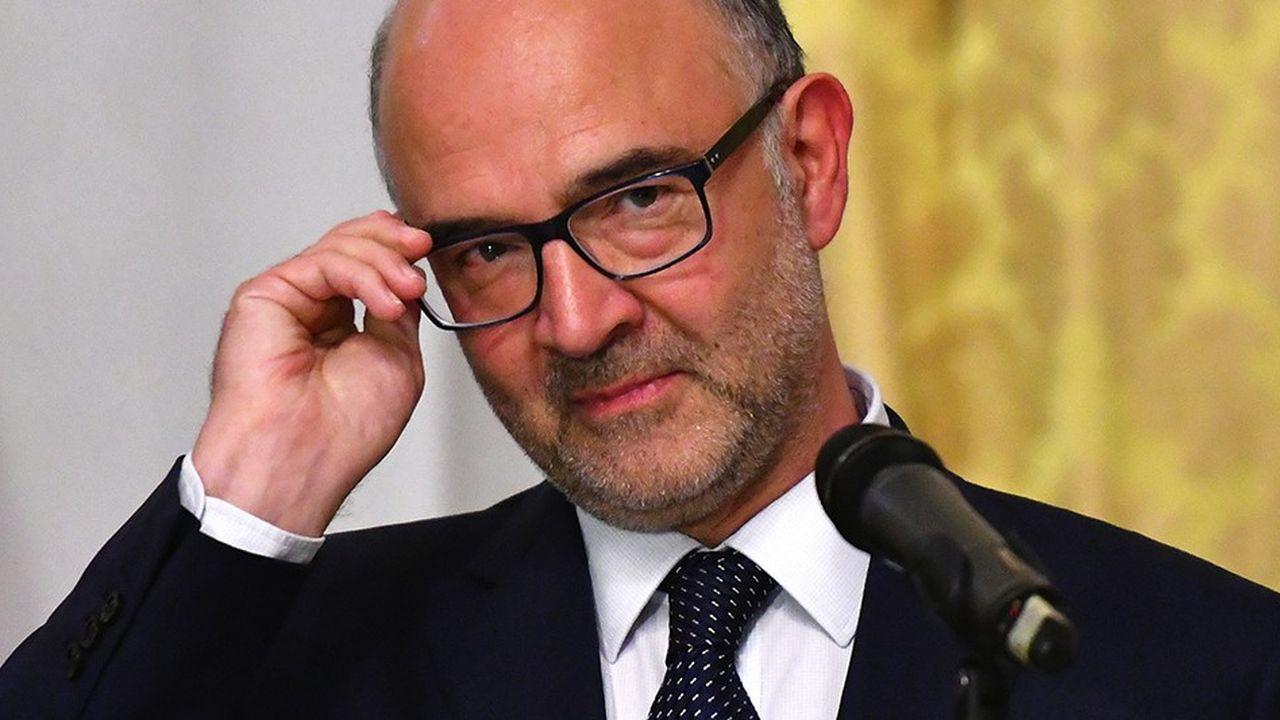 Le commissaire européen des affaires économiques, Pierre Moscovici.