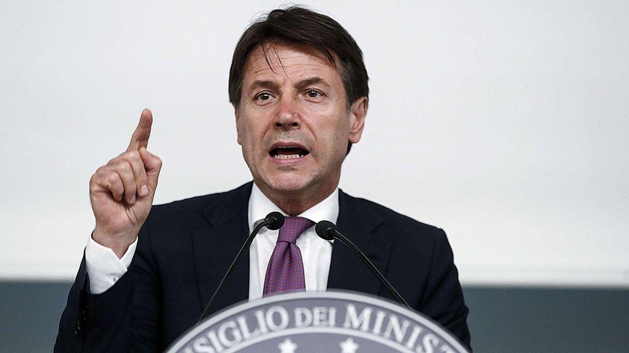 Pour le président du Conseil italien, Giuseppe Conte, il est inenvisageable que l'Italie quitte la zone euro ou l'Union européenne