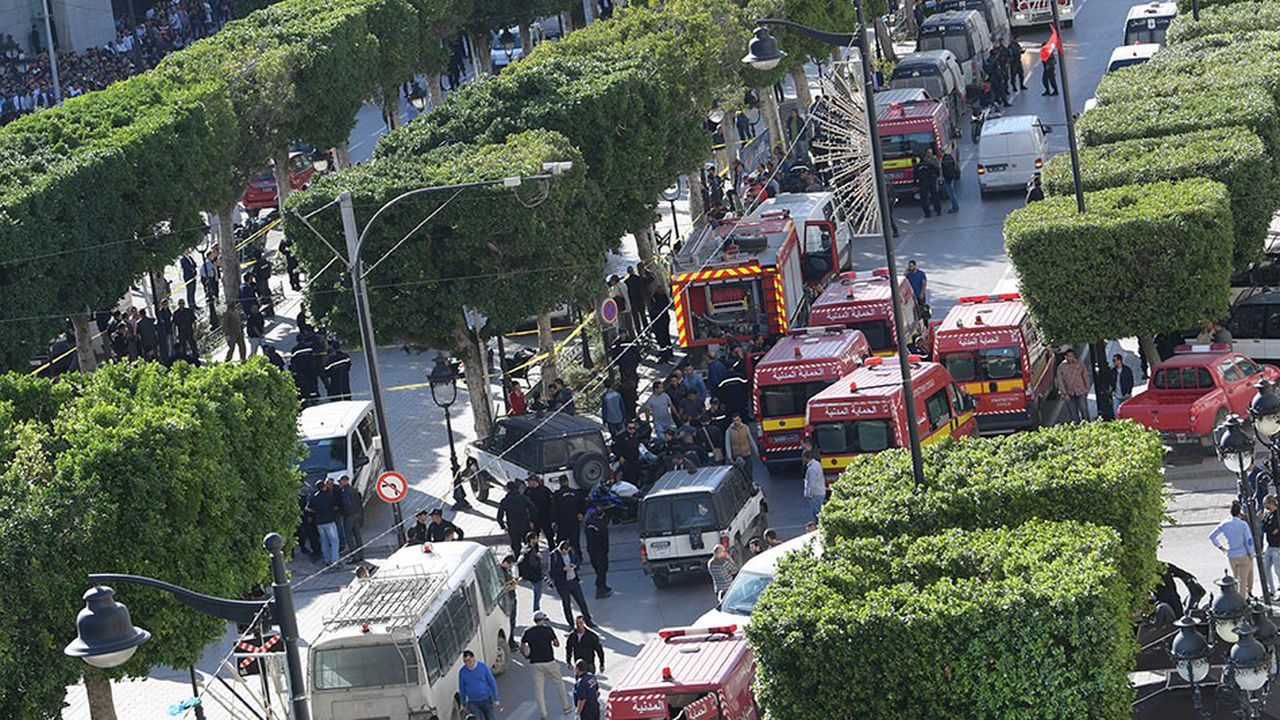 L'explosion a eu lieu en plein coeur de la capitale sur l'artère principale.