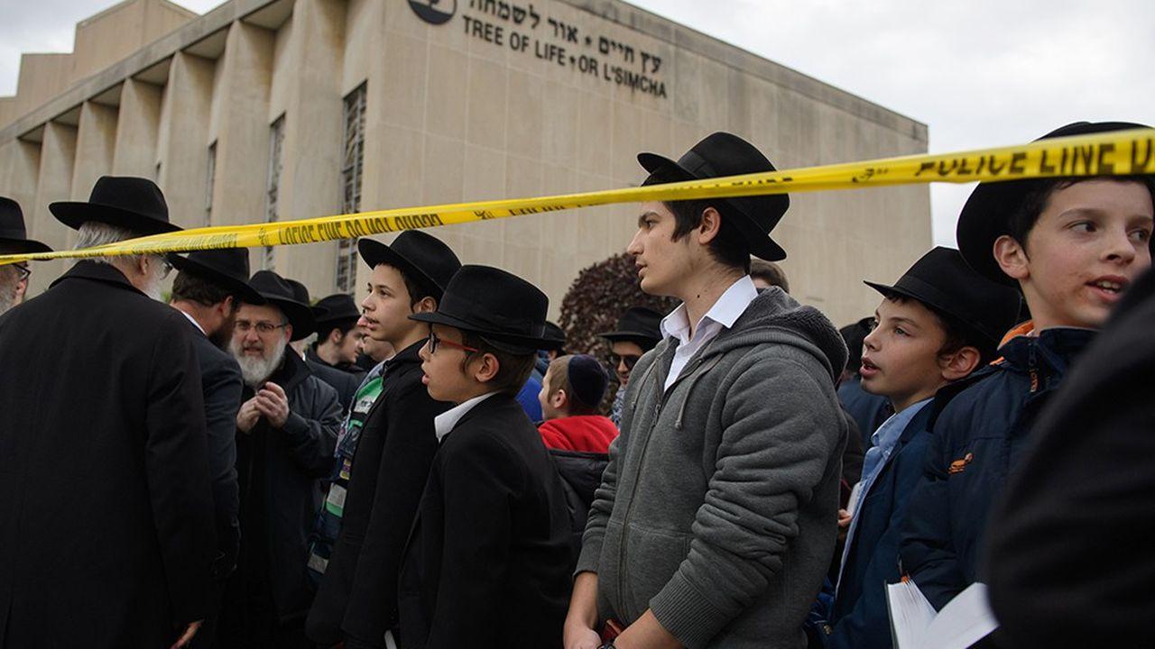 Les enterrements des onze victimes de l'attaque contre la synagogue de Pittsburgh, samedi, en plein office de shabbat, se dérouleront au moins jusqu'à vendredi.