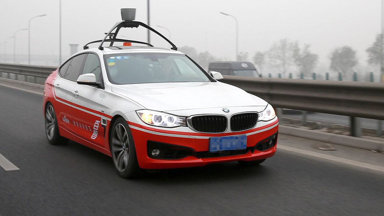 Baidu se veut à la pointe de la voiture autonome avec son programme Apollo qui regroupe plus d'une centaine de partenaires chinois et étrangers