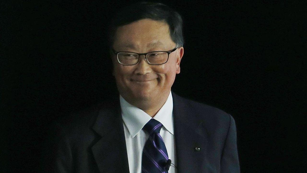 Le groupe dirigé par John Chen (photo) accélère dans les logiciels liés à la cybersécurité et à l'IA.