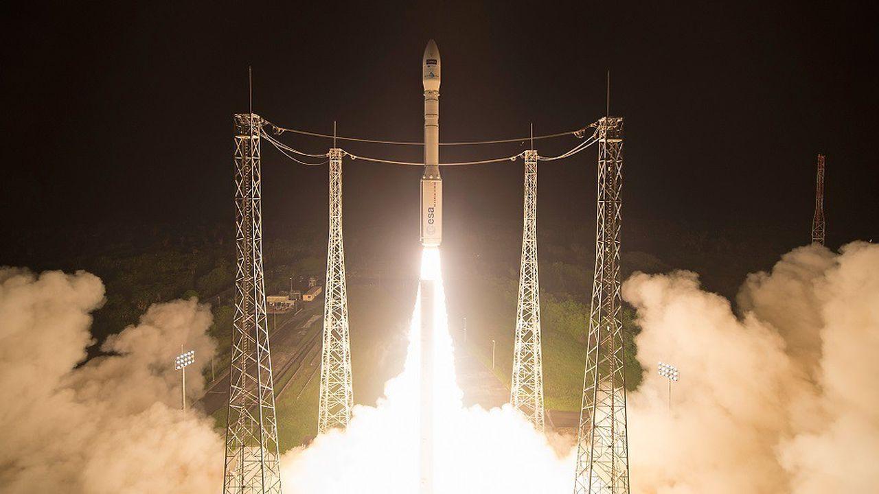 Le lanceur italien Vega a effectué son premier vol en 2012