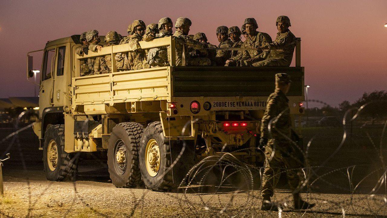Plus de 5.000 militaires américains sont déployés à la frontière avec le Mexique depuis fin octobre