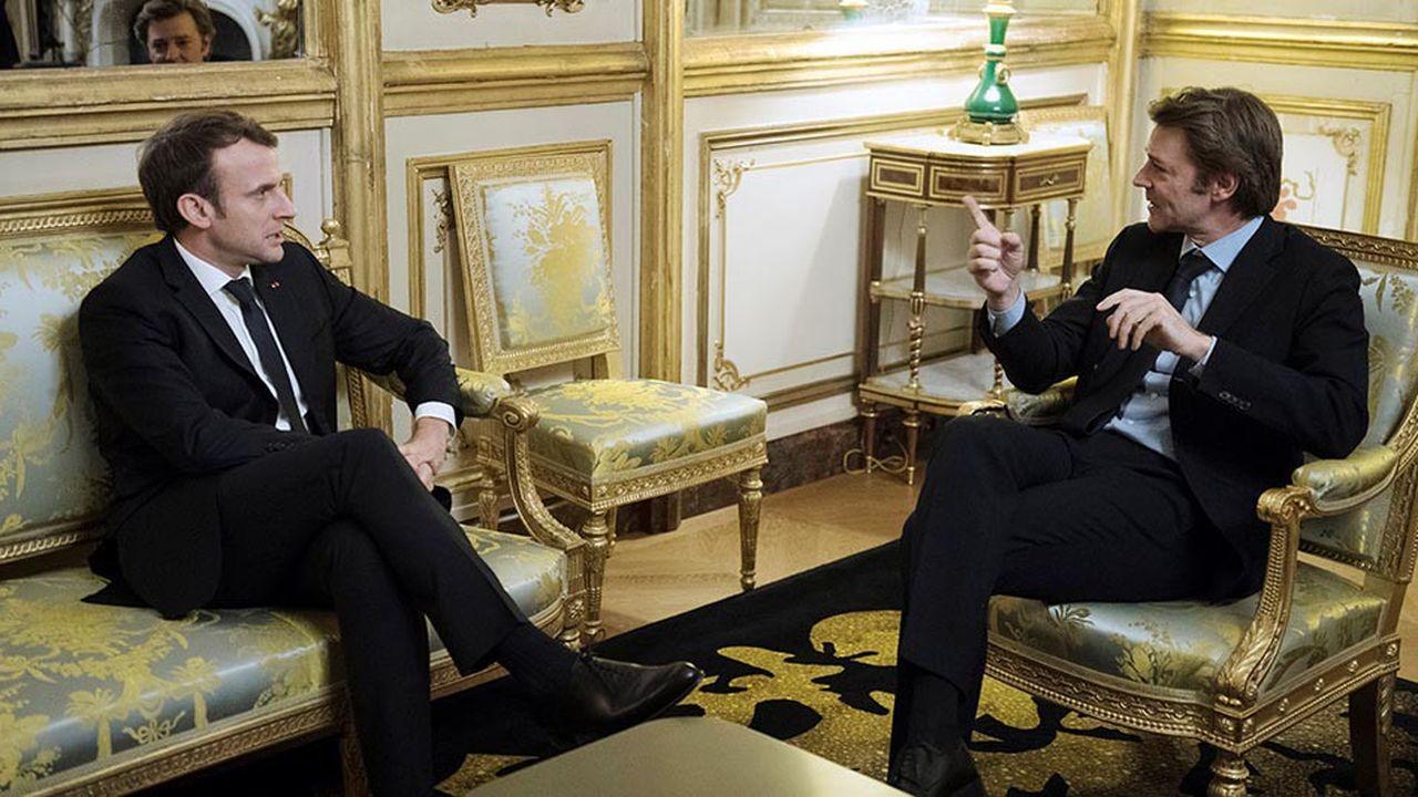 Le président de l'Association des maires de France, François Baroin, sera présent ce mercredi soir à l'Elysée pour le discours du chef de l'Etat.