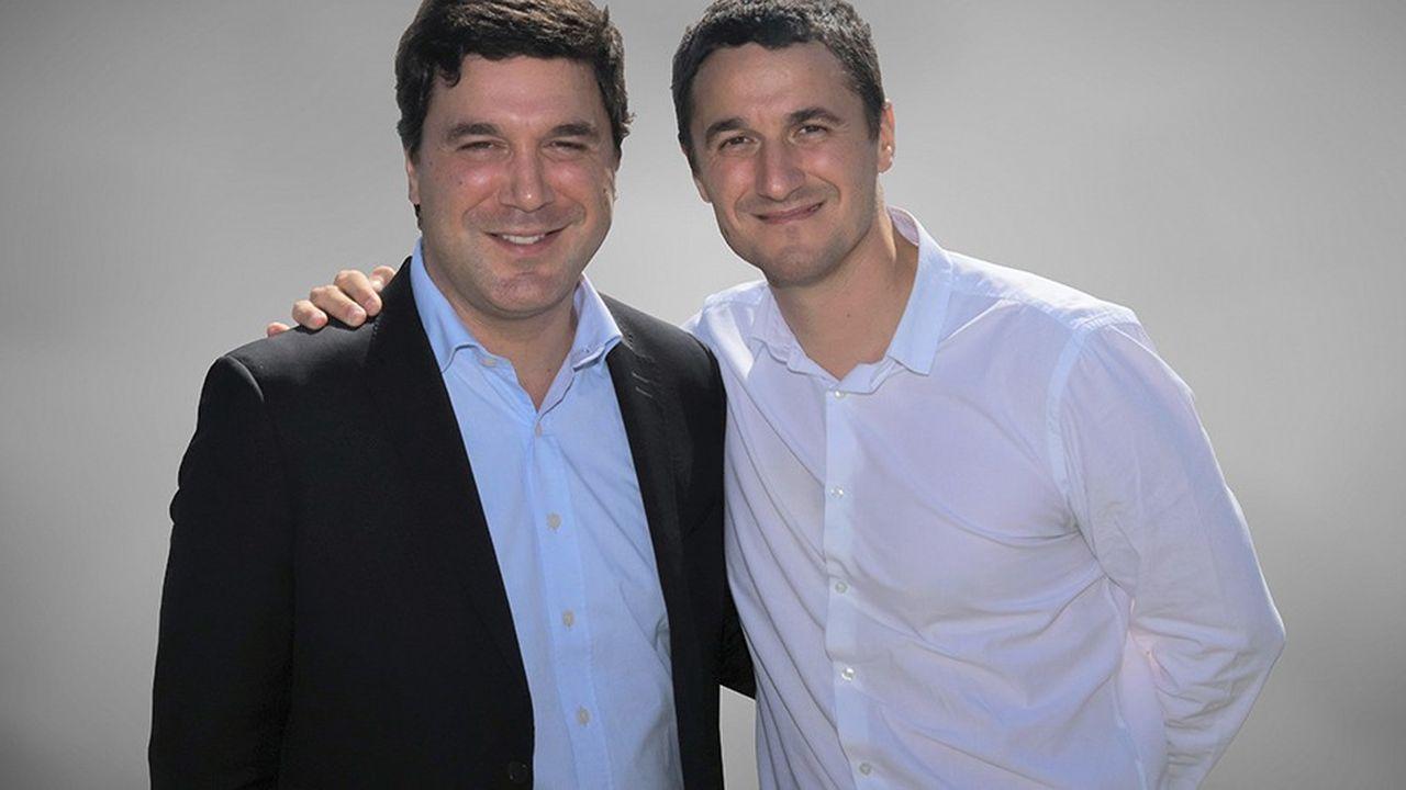 Thomas et Boris Derichebourg,respectivement à la tête de Derichebourg Environnement et Derichebourg Multiservices.