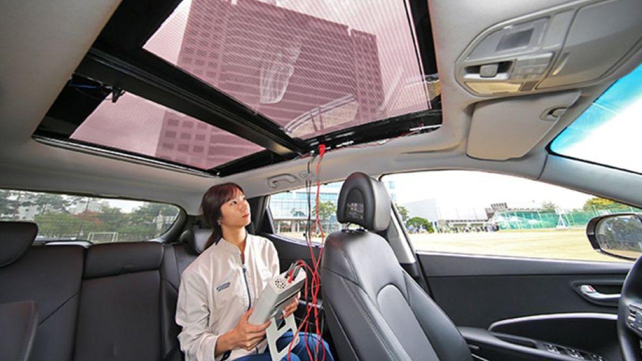 La deuxième génération de toit solaire sera semi-transparente, promet Hyundai