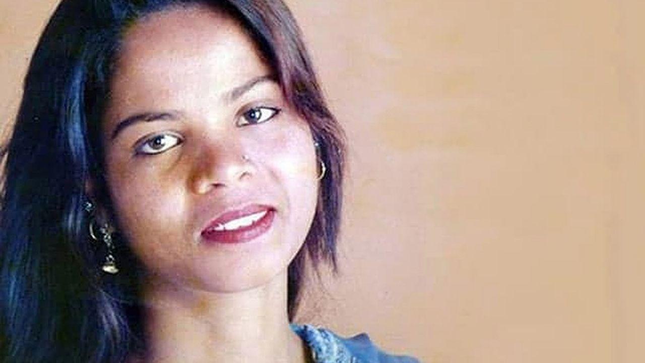 Asia Bibi avait été condamnée pour blasphème à la peine capitale en novembre2010.