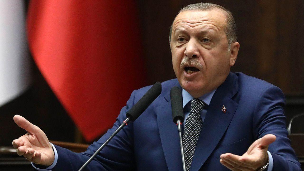 Le président turc Recep Tayyip Erdogan, le 20octobre 2018.