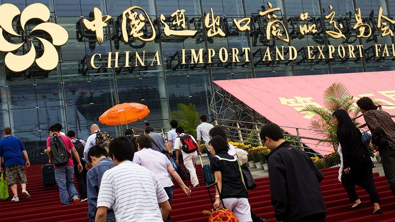 C'est peu dire que l'actuel bras de fer sino-américain hantait les discussions à la foire de Canton, qui ferme ses portes ce week-end