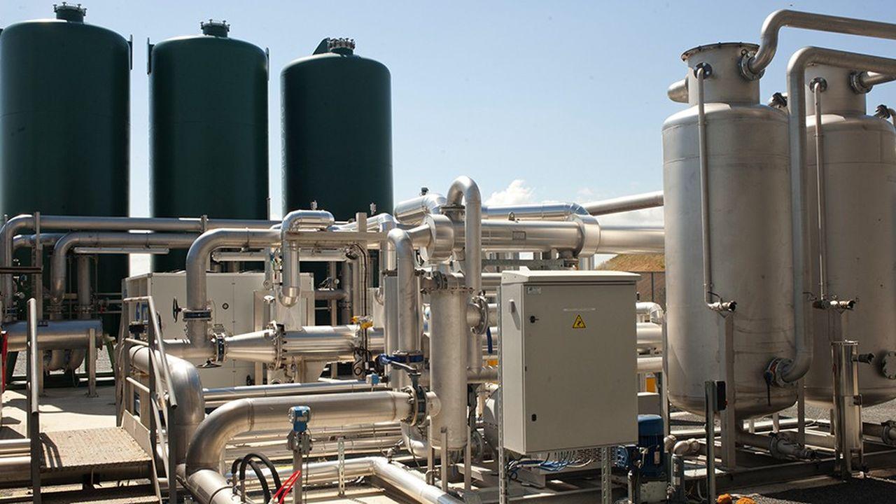 TRIFYL l'actuelle centrale de cogénération fonctionnant au biogaz (photo Trifyl)