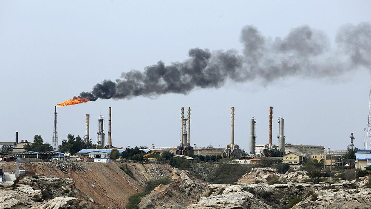 Les exportations iraniennes de pétrole pourraient tomber à un million de barils par jour à la fin de l'année, presque trois fois moins que le niveau atteint avant l'annonce des sanctions américaines.