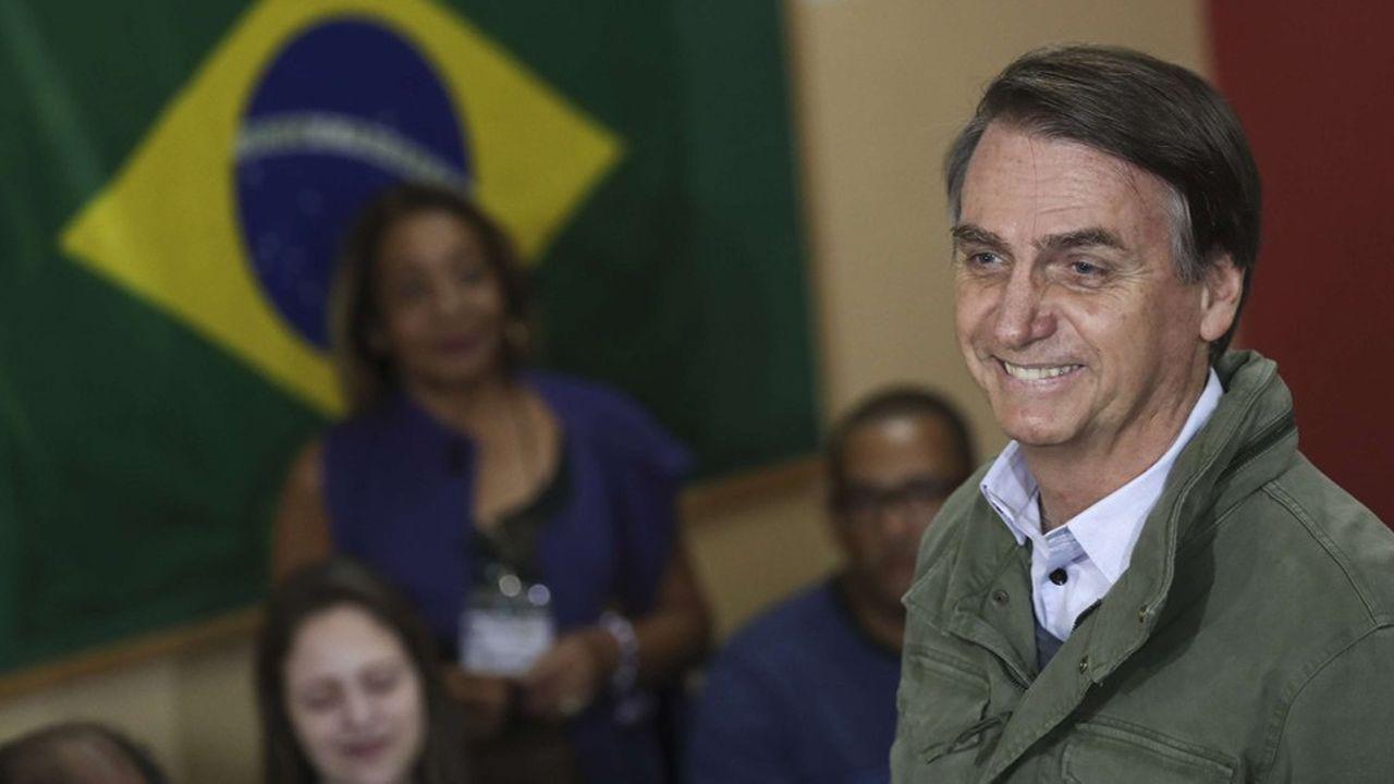 L'ancien officier de l'armée a remporté l'élection présidentielle en promettant un changement de cap radical dans la politique extérieure du Brésil