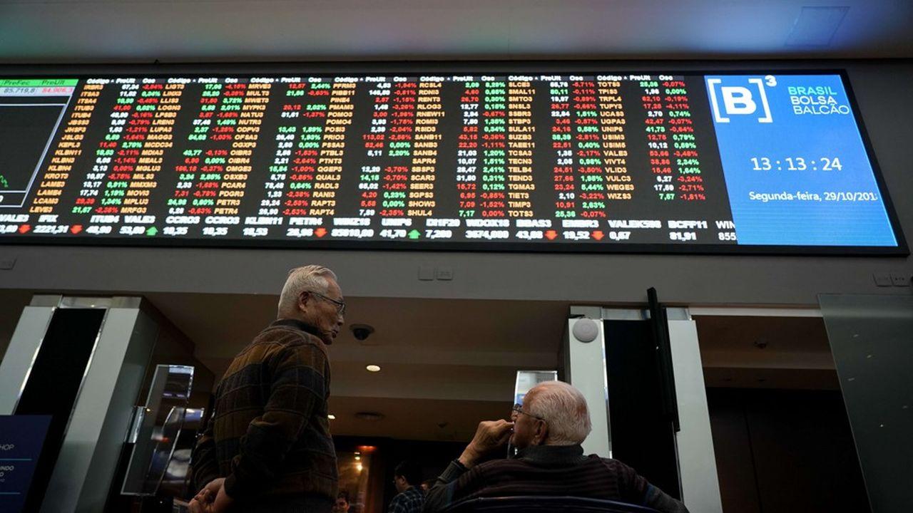 L'indice Ibovespa a terminé la séance de jeudi sur une hausse de 1,14%