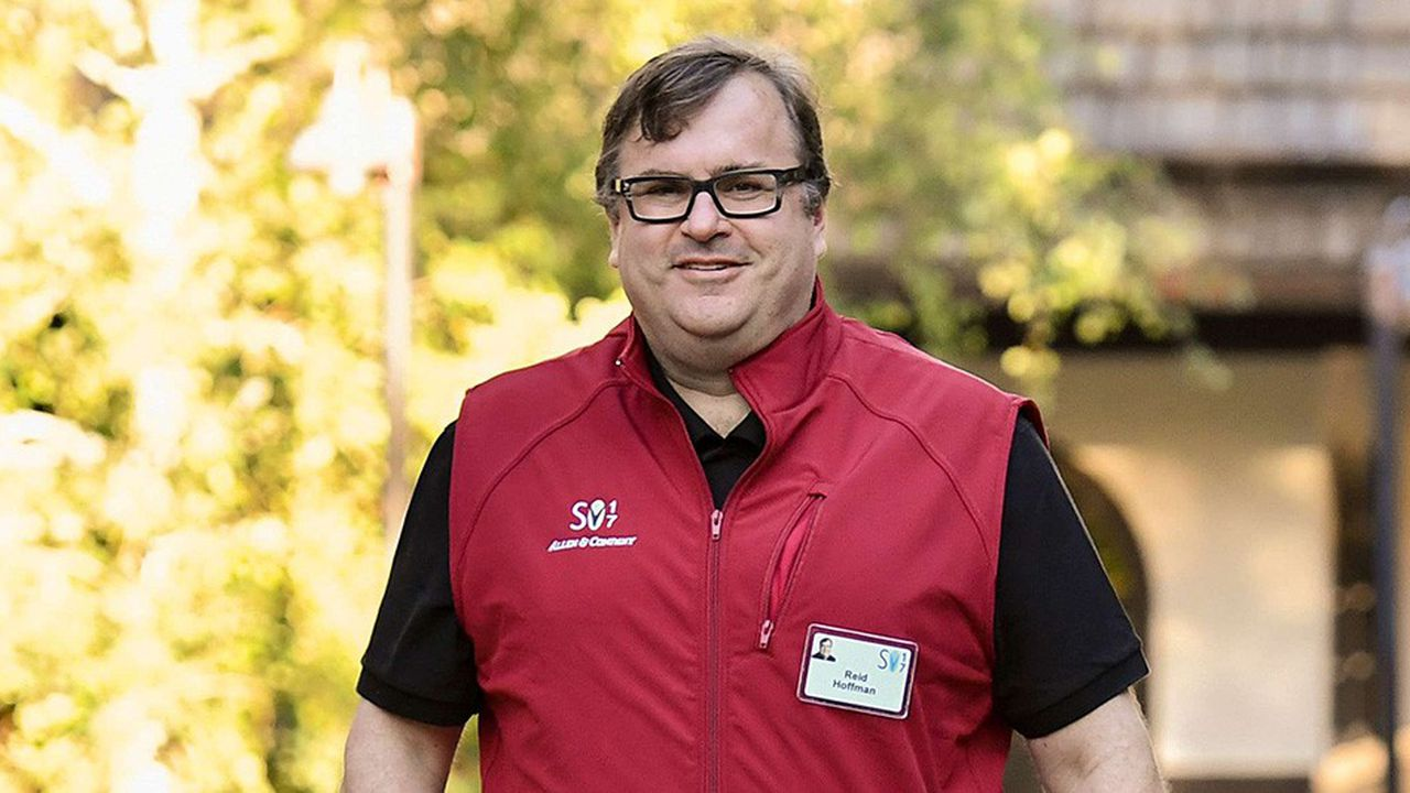 Reid Hoffman, le cofondateur de LinkedIn, est l'un des principaux soutiens des Démocrates dans la Silicon Valley.