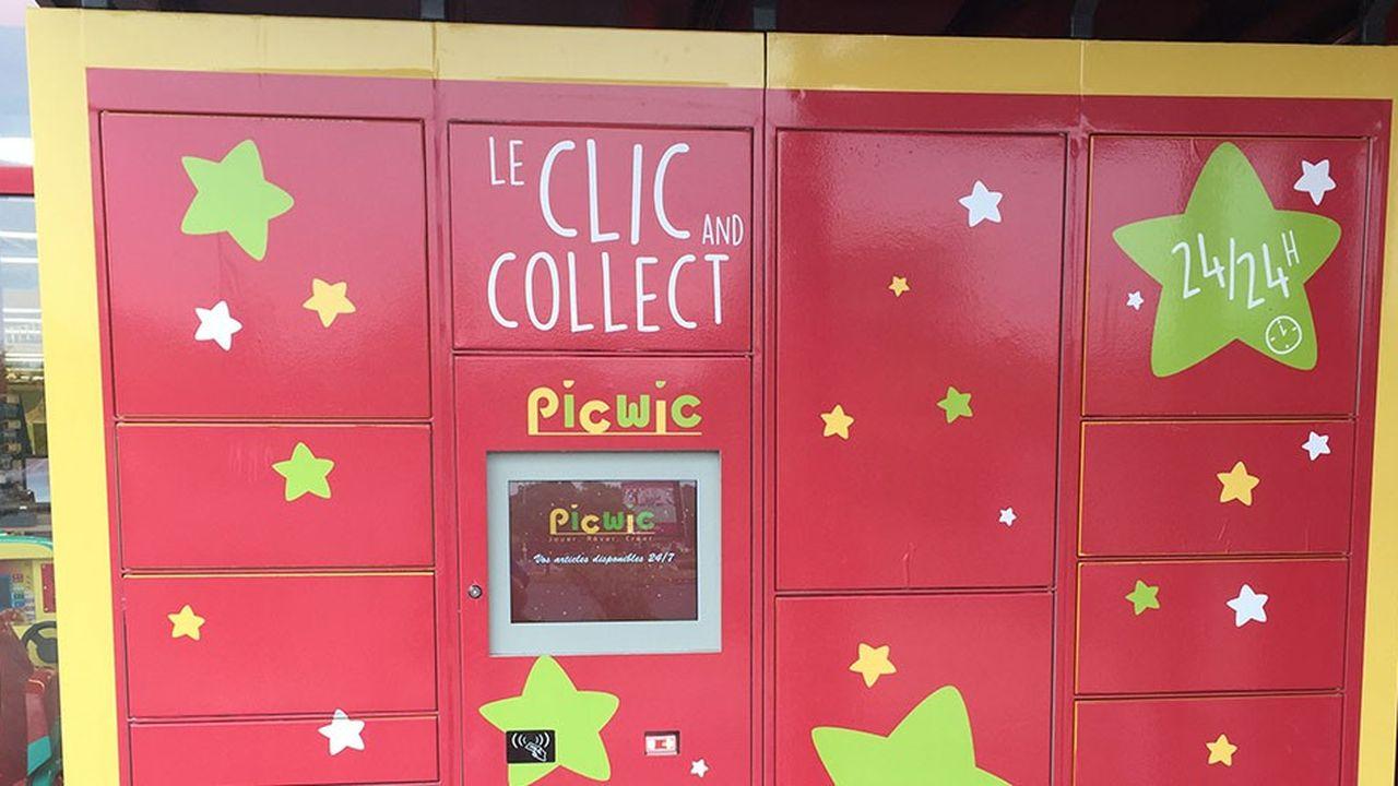 Picwic, l'enseigne de jouets, déploie le dispositif dans cinq boutiques à Arras, Orléans, Barentin, Villeneuve-d'Ascq et Nantes.