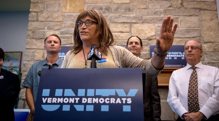 Dans le Vermont, la candidature de Christine Hallquist est déjà historique: elle est la première personnalité transgenre en lice pour un poste de gouverneur.