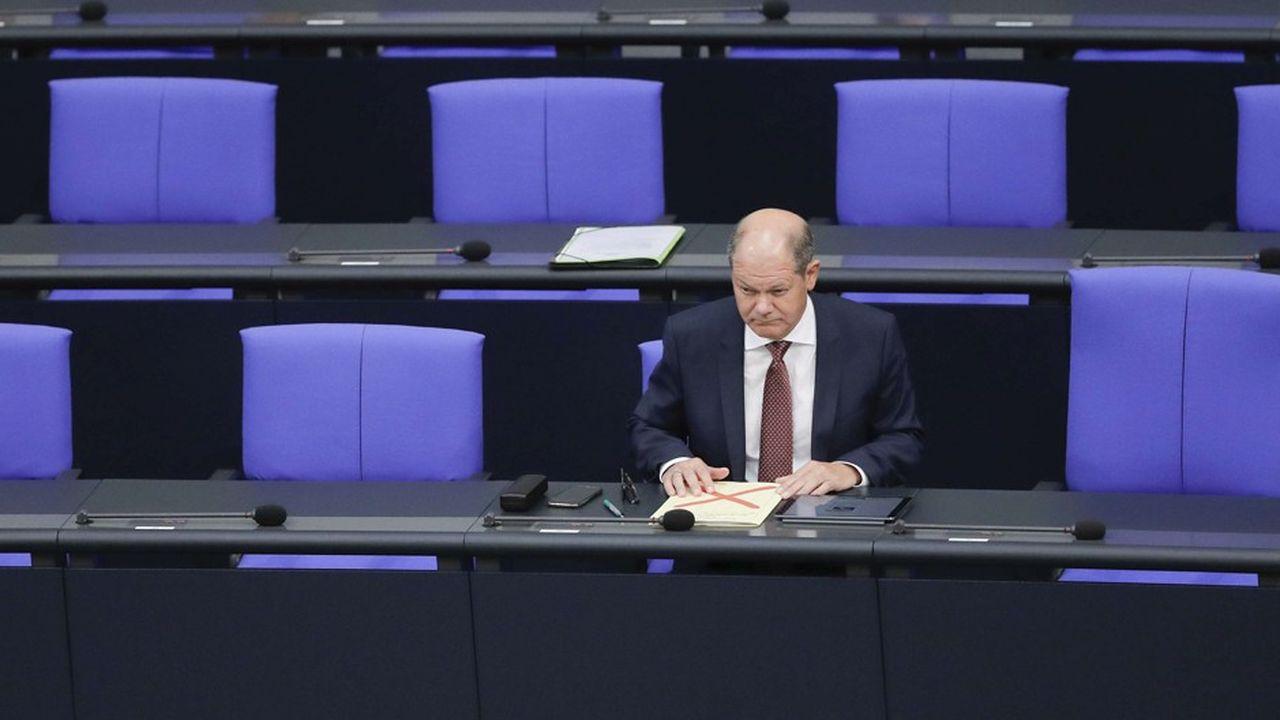 Olaf Scholz, le ministre des Finances allemand, est plutôt favorable à une taxe mondiale sur les géants du Net.