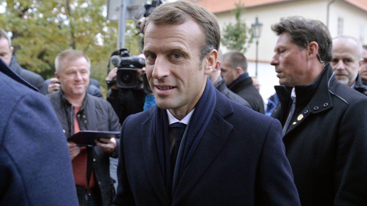 Emmanuel Macron sera toute la semaine dans le Nord et l'Est de la France pour renouer avec les habitants et les collectivités qui se sentent oubliés.