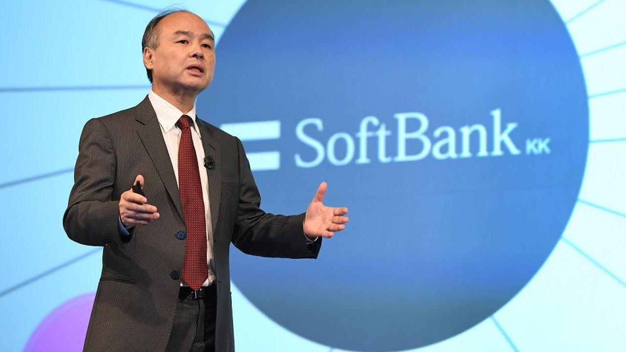 Masayoshi Son, patron de SoftBank, le 7février 2018