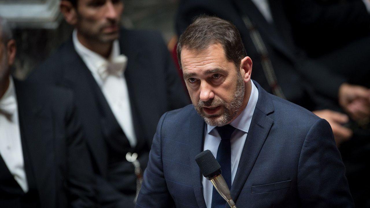 Christophe Castaner présentait le projet de budget 2019 de l'immigration devant l'Assemblée nationale ce soir.