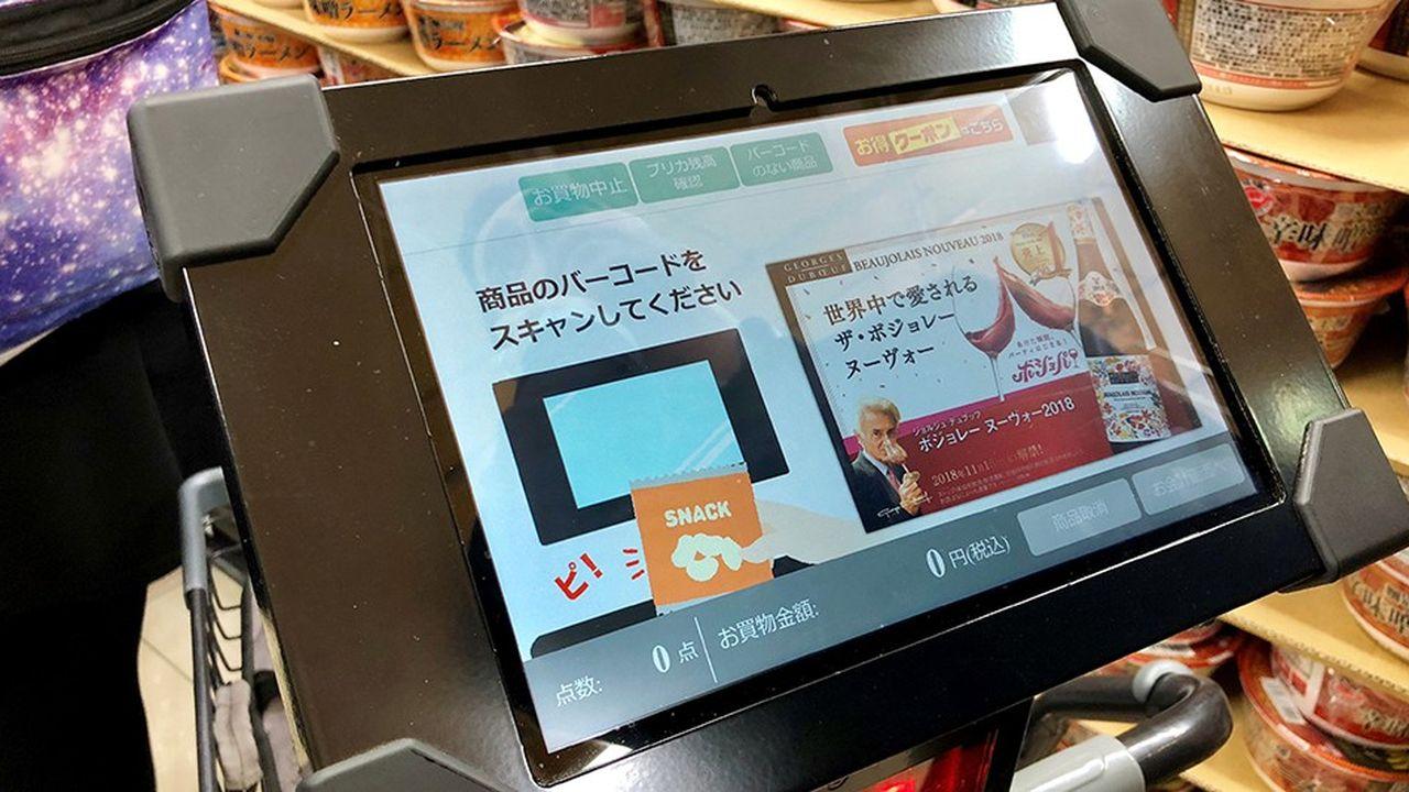 Le supermarché du futur s'invente au Japon