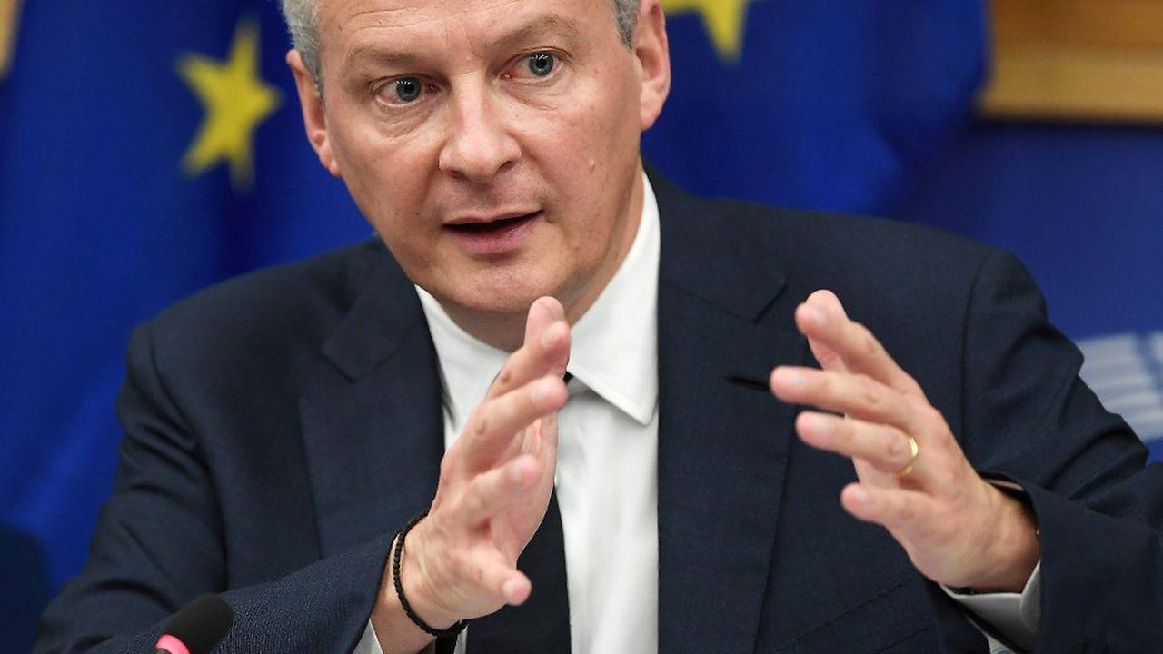 Le ministre français juge urgent d'entériner la future taxe Gafa «au nom de l'équité et de l'efficacité fiscales».