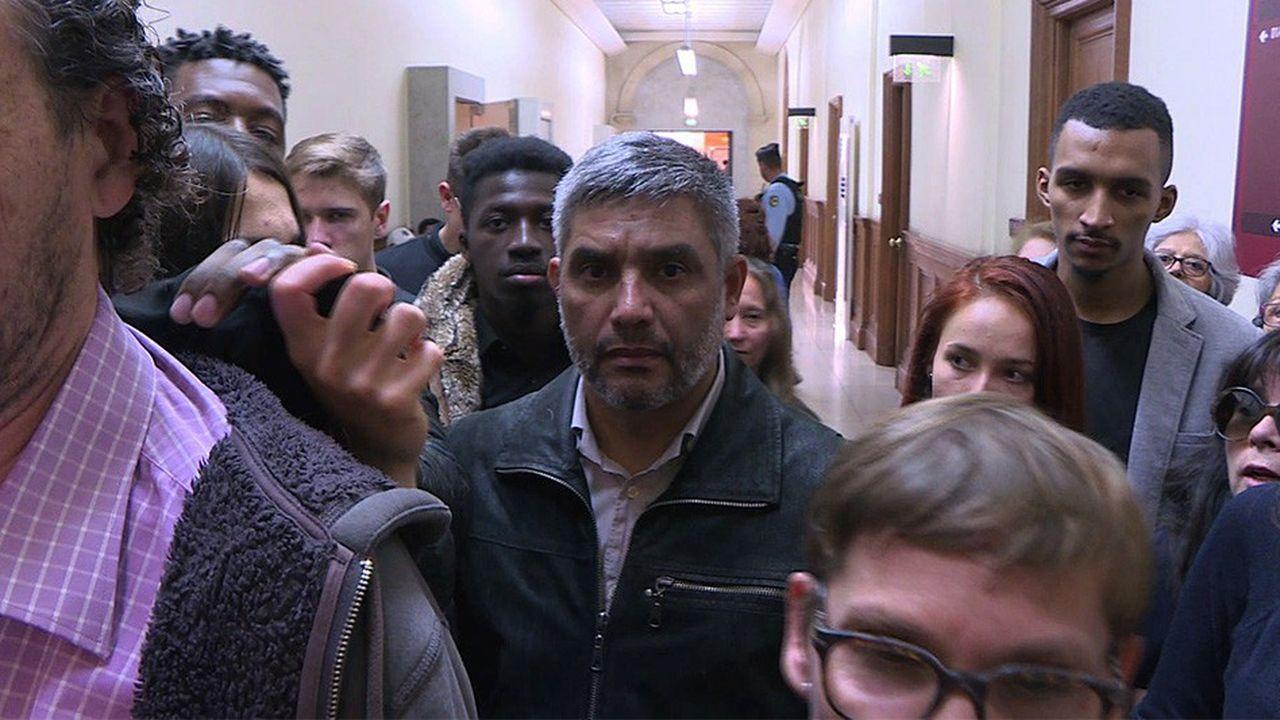 Le Chilien Ricardo Palma Salamanca au Palais de Justice à Paris le 10 Octobre 2018.