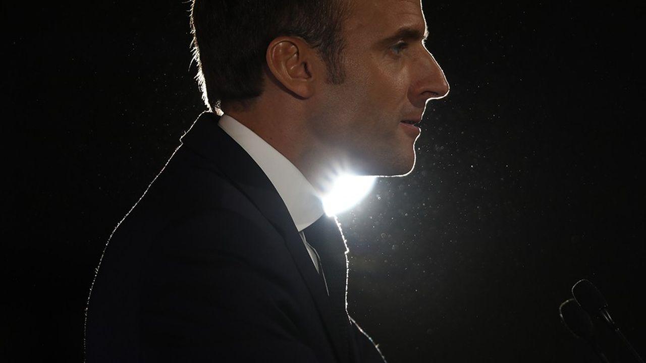 Un projet d'attaque encore «mal défini» visait le président Emmanuel Macron.
