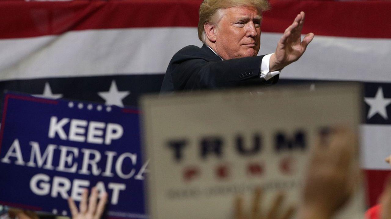 Les «midterms» sont presque toujours perçus comme un baromètre pour le président en place, mais le millésime 2018 le sera plus que jamais