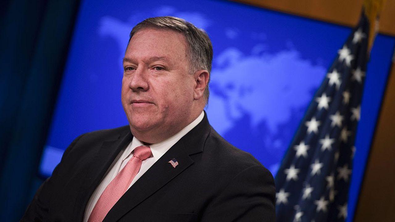 Le chef de la diplomatie américaine Mike Pompeo .