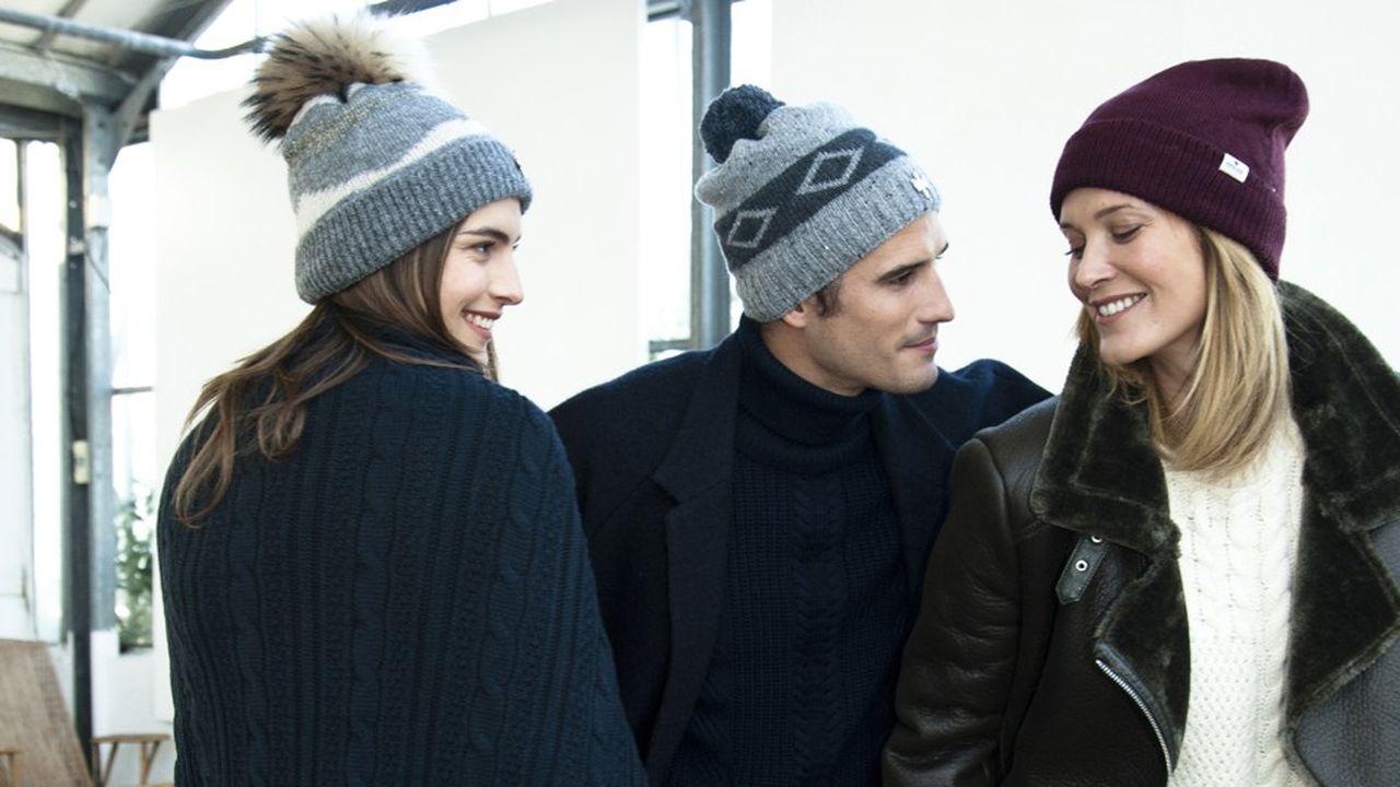 Les bonnets Pipolakien laine vierge, alpaga ou cachemire sont fabriqués,pour le premium et les articles techniques, à Tarbes (Hautes-Pyrénées), dans la Loire et en Italie. Le reste en Chine.