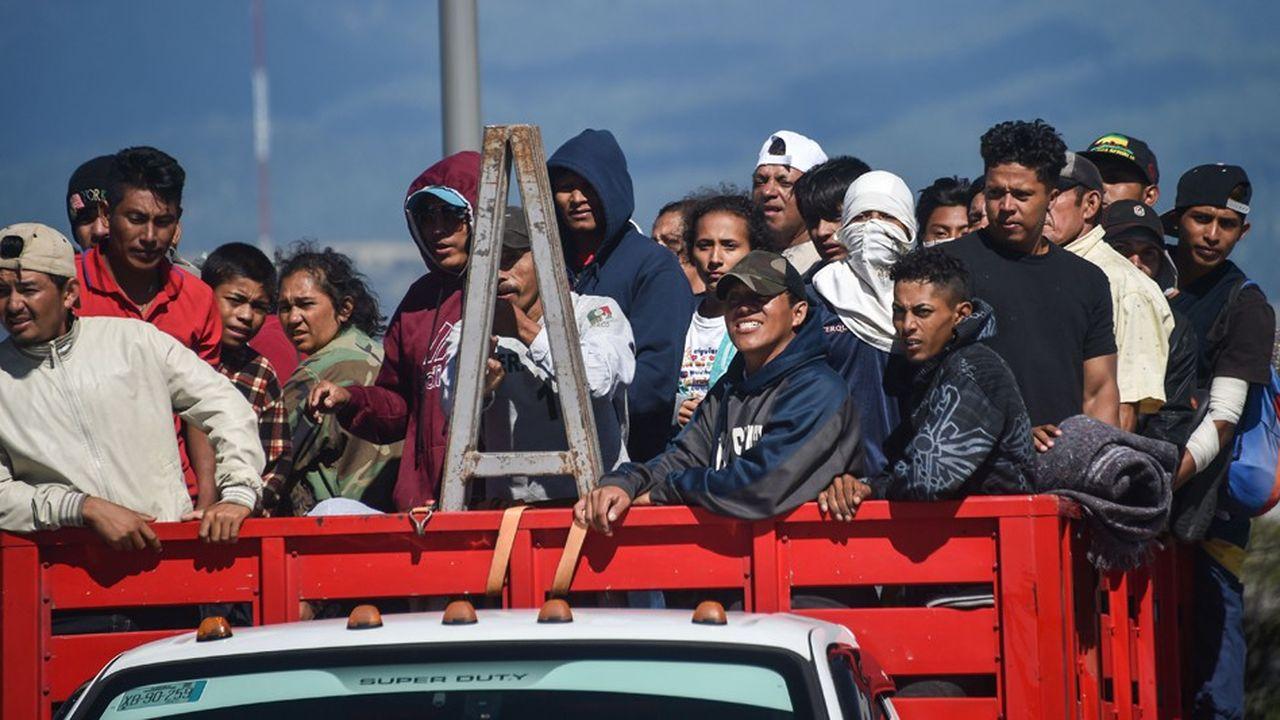 Le spot appelait les électeurs à voter républicain aux midterms pour stopper la caravane de migrants, partie du Honduras pour rejoindre la frontière entre le Mexique et les Etats-Unis