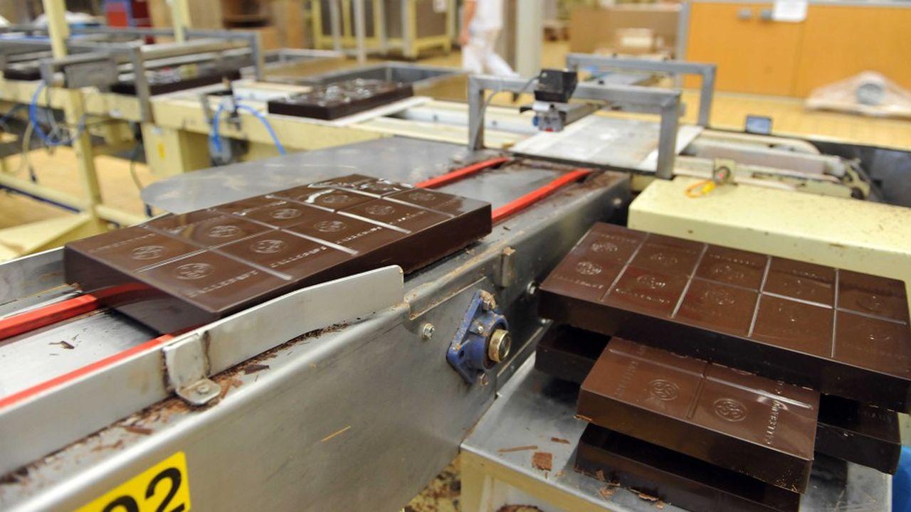 Le chocolat suisse a plus de mal à s'imposer en Chine que les américains Mars ou Hershey AFP PHOTO/GEORGES GOBET (Photo by GEORGES GOBET/AFP)