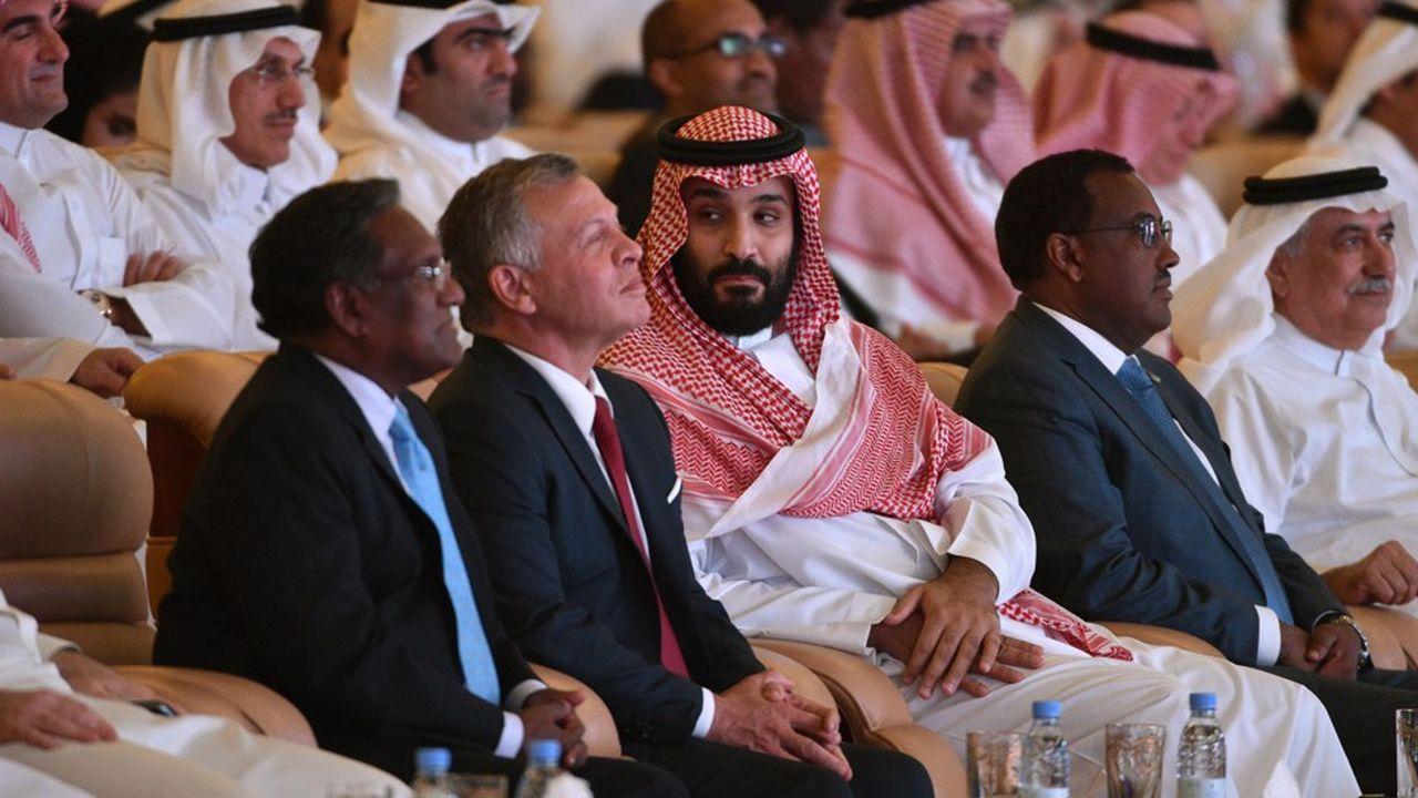 Le prince héritier saoudien, Mohammed ben Salmane, a assisté au forum économique FII (Future Investment Initiative) récemment à Riyad où les contrats annoncés ont été dix fois inférieurs à ceux de l'année précédente.