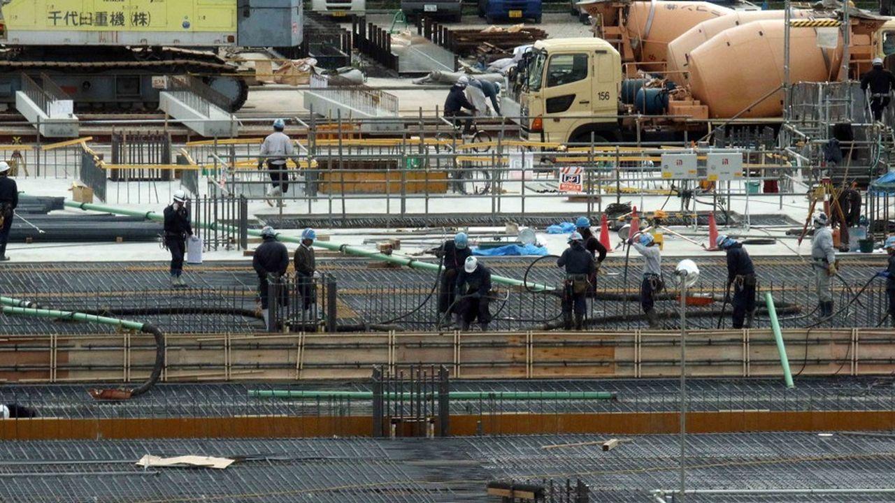 La plupart des ouvriers du bâtiment au Japon viennent de Chine, du Vietnam et d'Indonésie.
