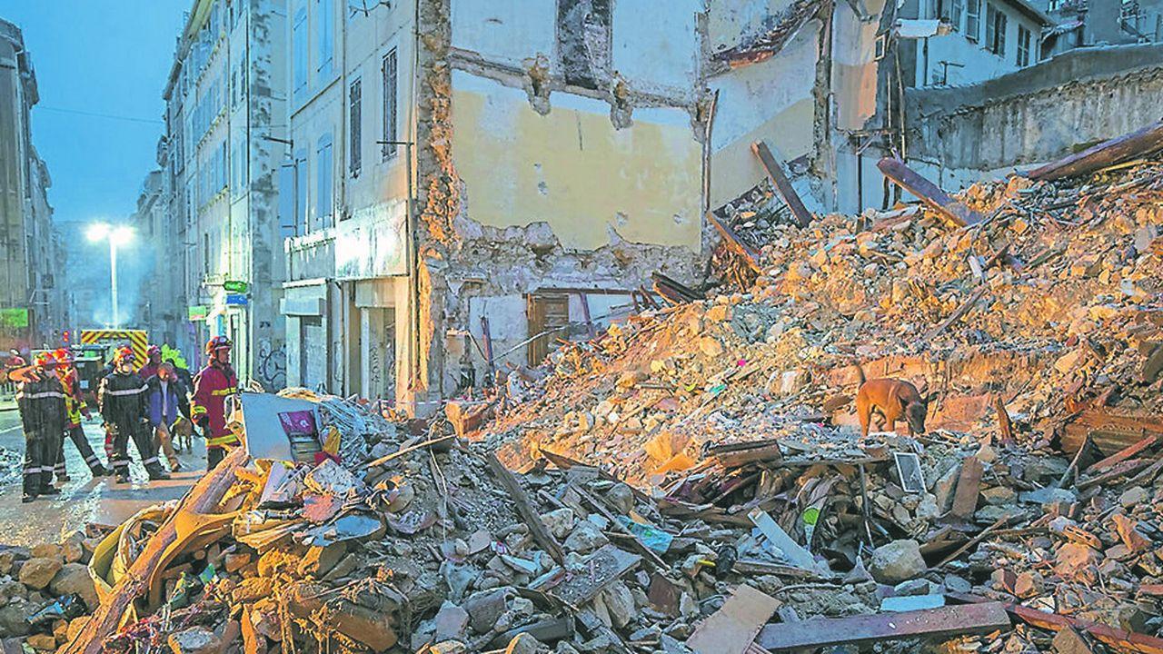 Dans les arrondissements de l'hypercentre de Marseille où a eu lieu le drame lundi, la proportion de logements indignes dans de petites copropriétés de moins de 25 logements construits avant 1949 dépasse parfois 35%.