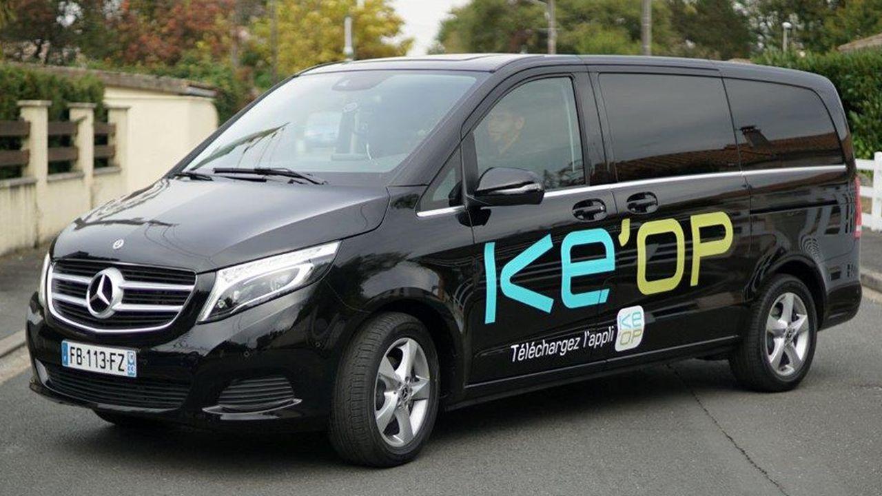 Financée par Keolis, l'opération a été montée en partenariat avec Mercedes. Elle s'appuie sur le savoir-faire de la jeune pousse israelo-américaine Via, dont les algorithmes permettent d'optimiser en temps réel le trajet des vans.