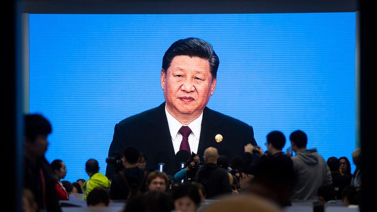 L'ONG Human Rights Watch accuse le président chinois Xi Jinping (ici lors d'une conférence de presse en début de semaine) de ne pas respecter la loi